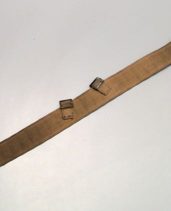 Belt used by Charles Francis Laseron during Sir Douglas Mawson's Australasian Antarctic Expedition, 1911-1914