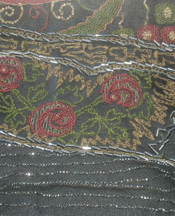 Dress detail - flowers