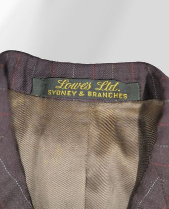Lowes Ltd. label on the inside of the jacket