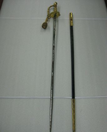 Privy Council Uniform - sword and scabbard [taken 9-11-09]