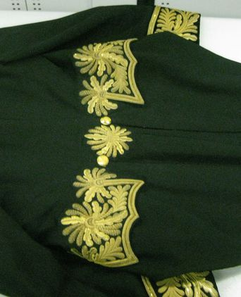 Privy Council Uniform - back of jacket [taken 9-11-09]
