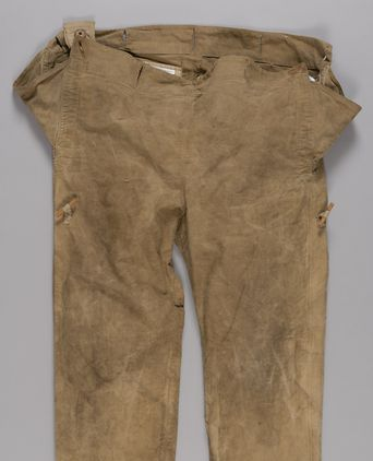 Overalls used by Charles Francis Laseron during Sir Douglas Mawson's Australasian Antarctic Expedition, 1911-1914