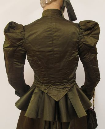 Bodice back view
