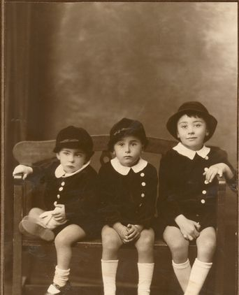 The Pastega Brothers as little boys (Left to right: Leo, Roy and Ori)
