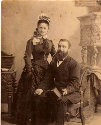 Eliza and William Bayldon when young