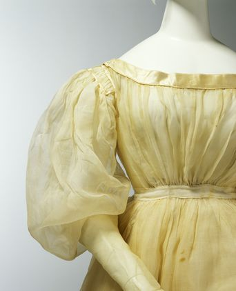Close-up of Agnes Thompson's Wedding Dress