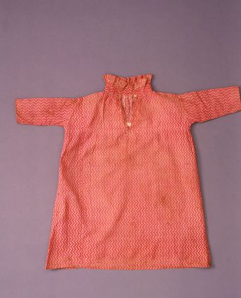 Boys dress worn by John Marsden, 1802-1803. Photo: Powerhouse Museum