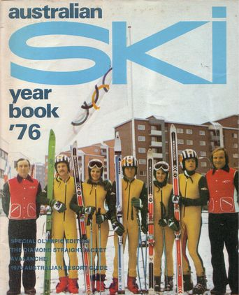 Australian Ski Year Book 1976 cover